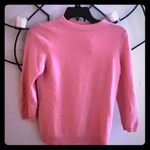 Pure cashmere Talbots sweater